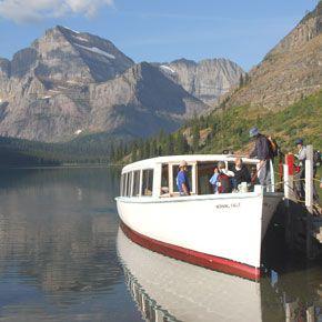 Glacier National Park   Boat Tours and Rentals