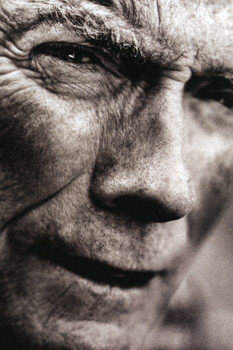 Clint: This Man, Work Man, Famous People, Photo Of Women, Man Art, Clinteastwood, Movie Icons, Close Up, Clint Eastwood