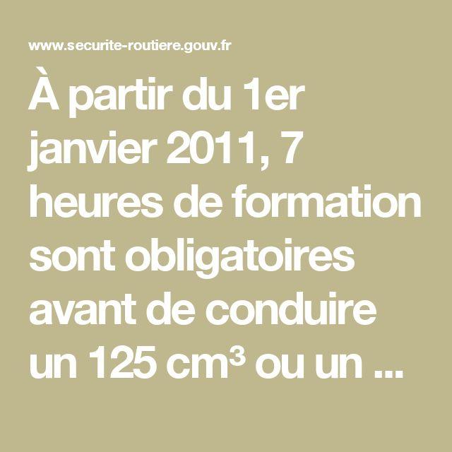 """À partir du 1er janvier 2011, 7 heures de formation sont  obligatoires avant de conduire un 125 cm³ ou un """"scooter à trois roues"""" / Publications presse / Espace presse - Sécurité routière   Tous responsables"""