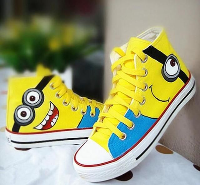 Despicable Me Cartoon Casual Kid Sneakers Size 26~35 | Furrple