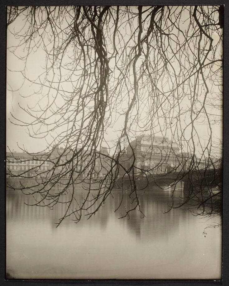 "membrane: "" Josef Sudek / Prague, The Nation Theater Across The River """