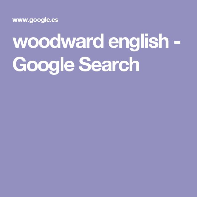 woodward english - Google Search