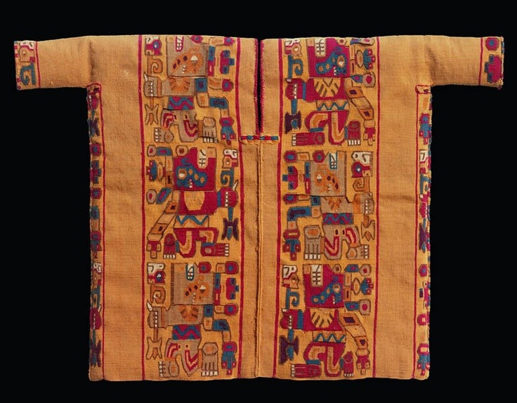 "Miniature Wari Tunic from ""Wari: Lords of the Ancient Andes"" on view at the Cleveland Museum of Art through 1/6/13 http://www.clevelandart.org/visit/Exhibitions.aspx"