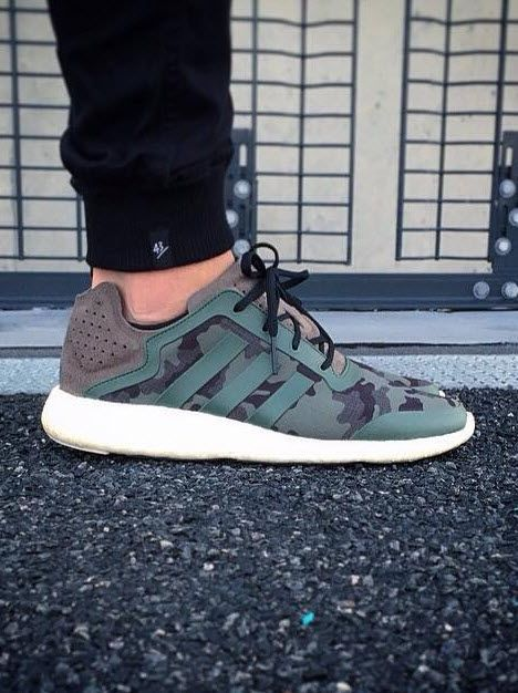 5b9d0c4da546a Adidas Pure Boost Green Camo los-granados-apartment.co.uk