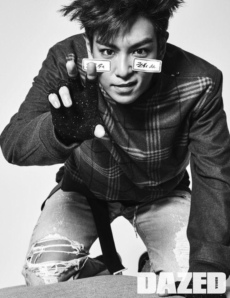 T.O.P BIGBANG Dazed Korea 6 - Soompi France