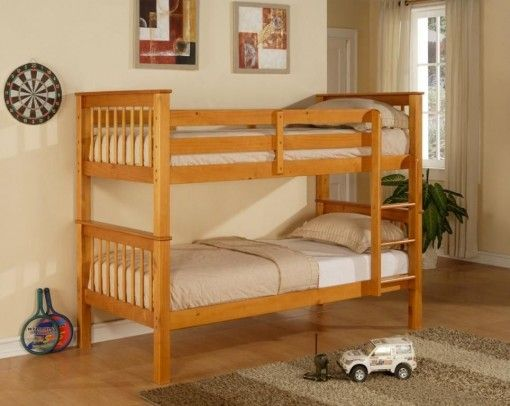 Limelight Pavo Pine Wooden Bunk Bed