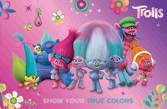 DreamWorks Trolls Poppy   LIBRO - Trolls - Schreibunterlage mit seitlicher Einschiebelasche