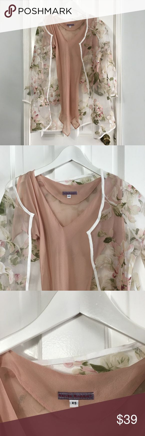 Renee Bardot flower blouse & camisole sz XS Renee Bardot flower blouse & camisole sz XS Made In: n/a Size:XS Fit: fitted Shoulders: 15 Chest: 29 Waist: 26 Length: camisole 27 - flower blouse 30 Material: polyester Color: pink, floral print Condition: Excellent #CoxyCloset #top #blouse #floral #printed #trasparent #romantic #summer #spring #chic #daywear #elegant Renee Bardot Tops Blouses