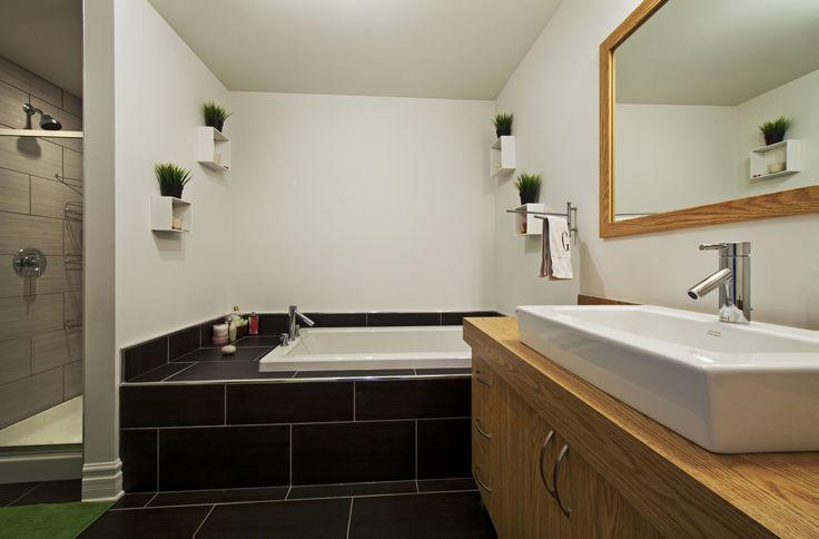 Salle de bain - maison de ville  Habitations Laurendeau