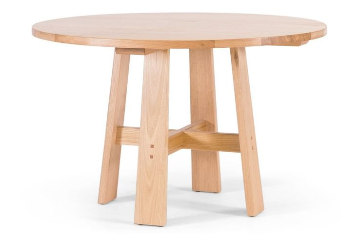 Otway Round Dining Table, an Australian made Tasmanian Oak table. Have it made in your choice of stain and size. From Urban Rhythm, Melbourne urbanrhythm.com.au