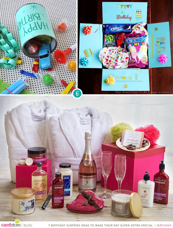 birthday surprise ideas to make their day super-extra special ...