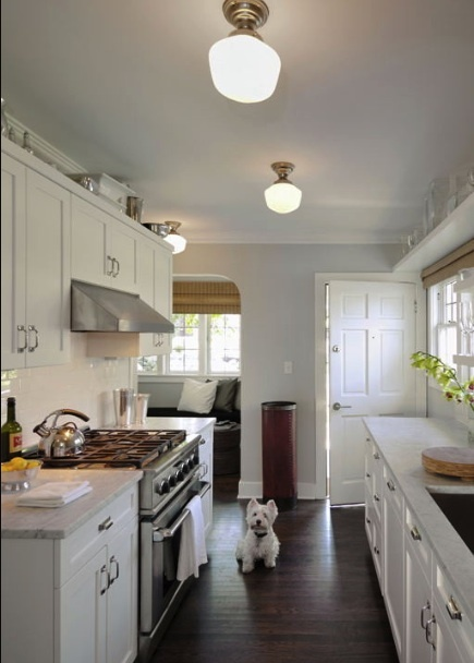 galley kitchen & 9 best Galley Kitchen Lighting images on Pinterest | Kitchens ...