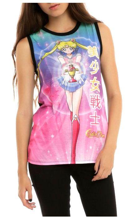 Sailor Moon T-Shirt, Tank Top & Sublimation Top Shopping ...