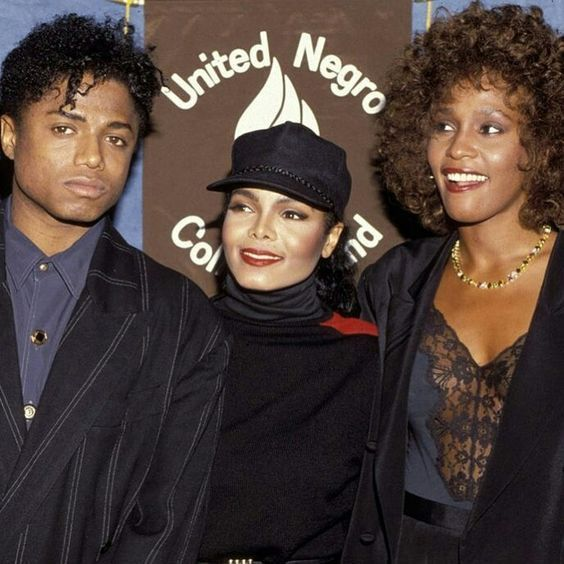 Randy Jackson, Janet Jackson and Whitney Houston (The United Negro College Fund) (1999. New York)