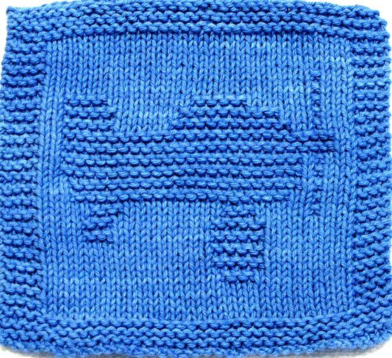 Knitting Cloth Pattern   TOY PLANE  PDF by ezcareknits on Etsy, $2.85