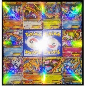 Kanoa favorite Pokemon Lot:100/pcs New Mega  EX POKEMON CARDS charizard pack Training Card set  | eBay