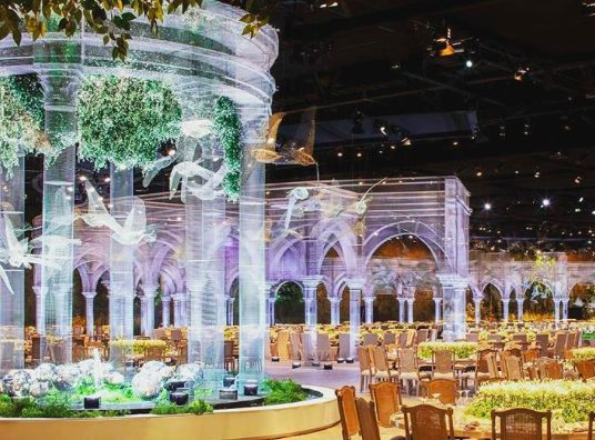Don't be afraid to experiment with new materials and push the limits when it comes to event decor #EventProfs