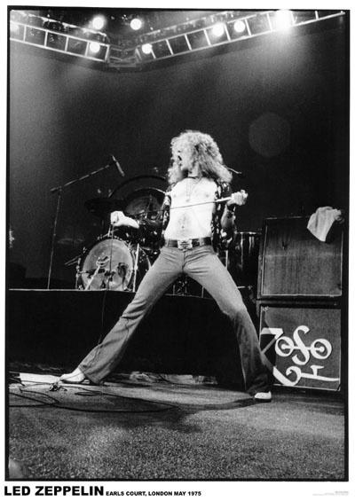 Led Zeppelin  Robert Plant Live poster