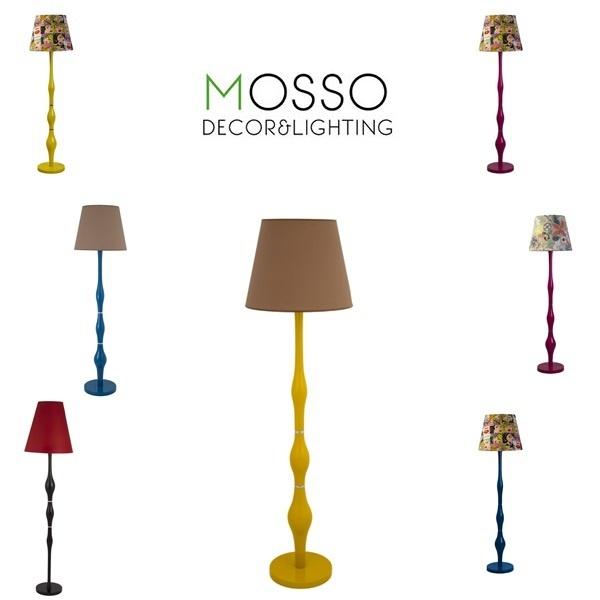 Wood Design- Lighting Design- Interior Design Mosso Lighting /Floor Lamp (Lambader) Wooden Floor Lamp-Handcrafted Wood