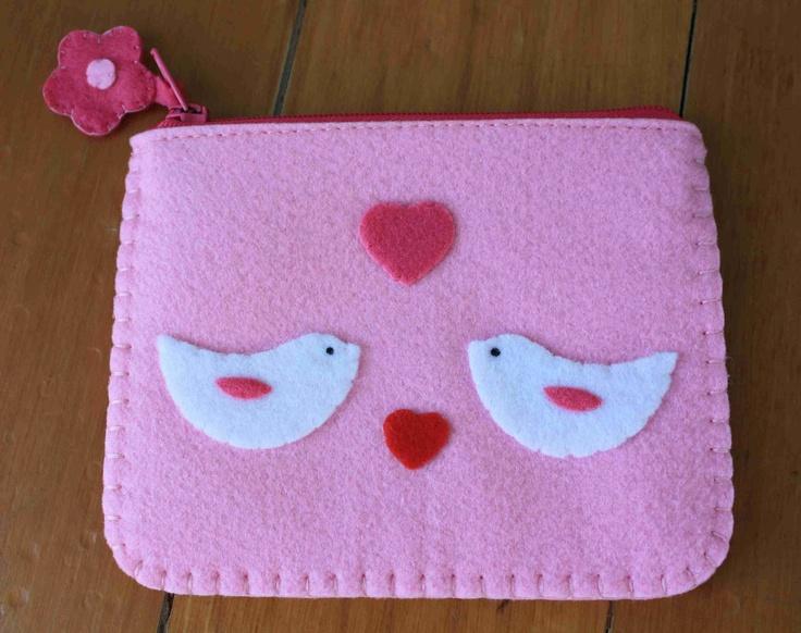 felt little girls bag