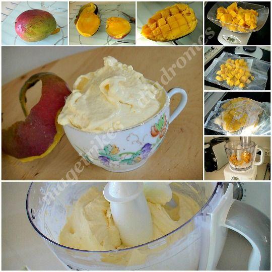 Παγωτό μάνγκο στιγμής
