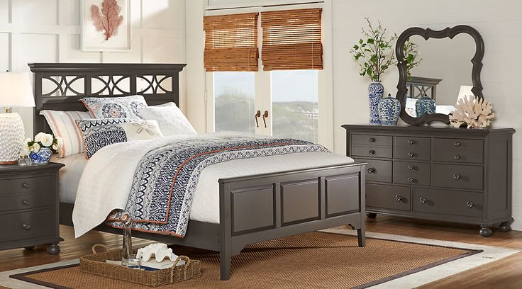 Shop for affordable Colorful Queen Bedroom Sets at Rooms To Go Furniture. Find a variety of styles, options, and colors for sale. Red, blue, green, gray, and more. #iSofa #roomstogo