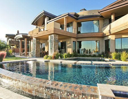 million dollar homes in las vegas | Custom Estate Luxury Guard Gated Communities Las Vegas NV