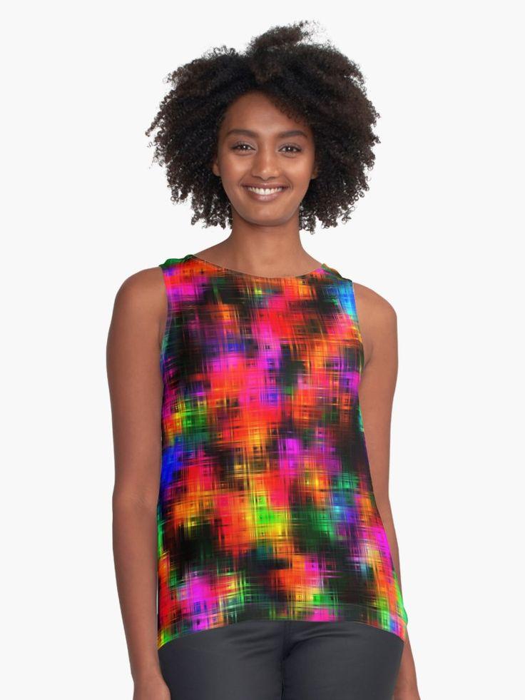 Striking  by Silvia Ganora  #clothing #tank #summerdesign #vibrant #abstract  #colorful #energy  (scheduled via http://www.tailwindapp.com?utm_source=pinterest&utm_medium=twpin)