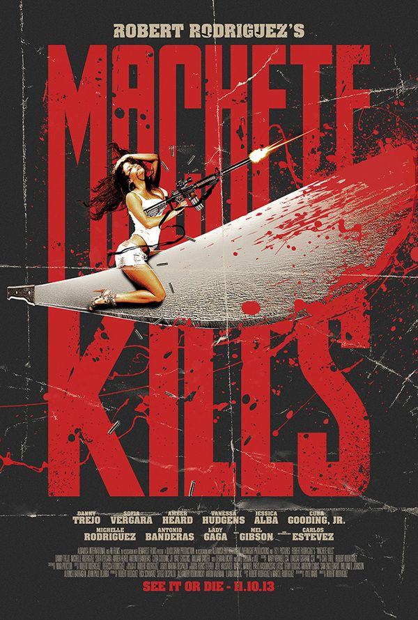 Machete Kills - Alternative Poster - WINNER by Scott Woolston, via Behance
