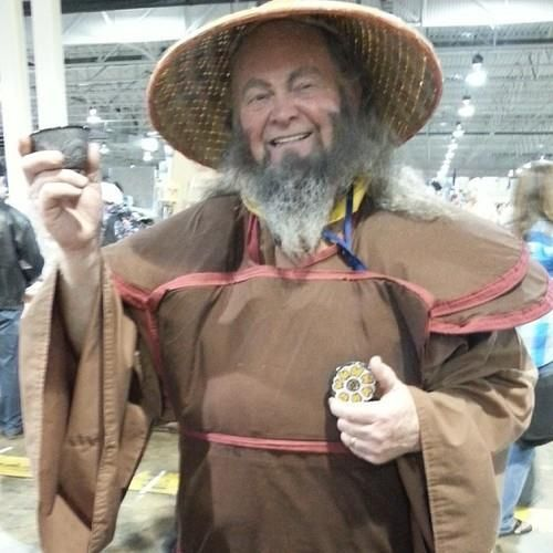 Uncle Iroh Cosplay from ATLA, photo by elementalsight on Instagram | at Anime North 2014 | Avatar: The Last Airbender
