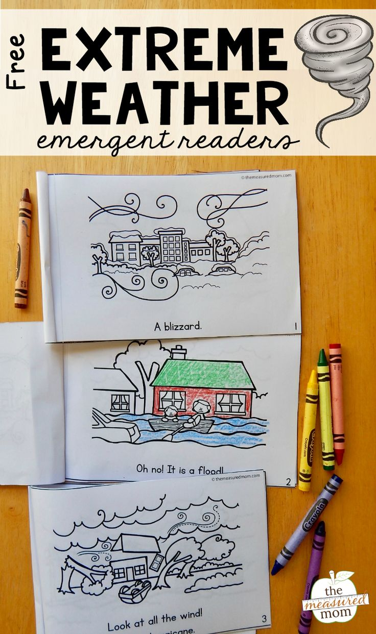 Download this set of extreme weather emergent readers – for free! Are your kids as interested in storms as mine are? I don't know how many times my kids have asked about tornadoes, hurricanes, and other natural disasters. I figure mine aren't the only kids who are fascinated by storms. So it made sense to include a set of extreme weather emergent readers in our weather theme. Today I'm sharing... Read More »