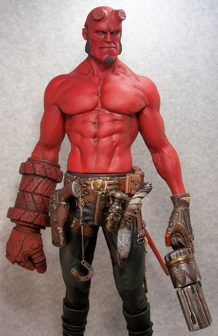 Ron Perlman Hellboy Workout