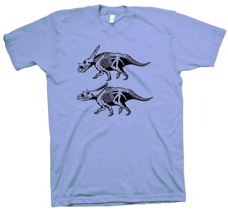 Chasmosaurus T-Shirt , Dinosaur Funny Geek Nerd Science Scientist Paleontology - T-Shirts