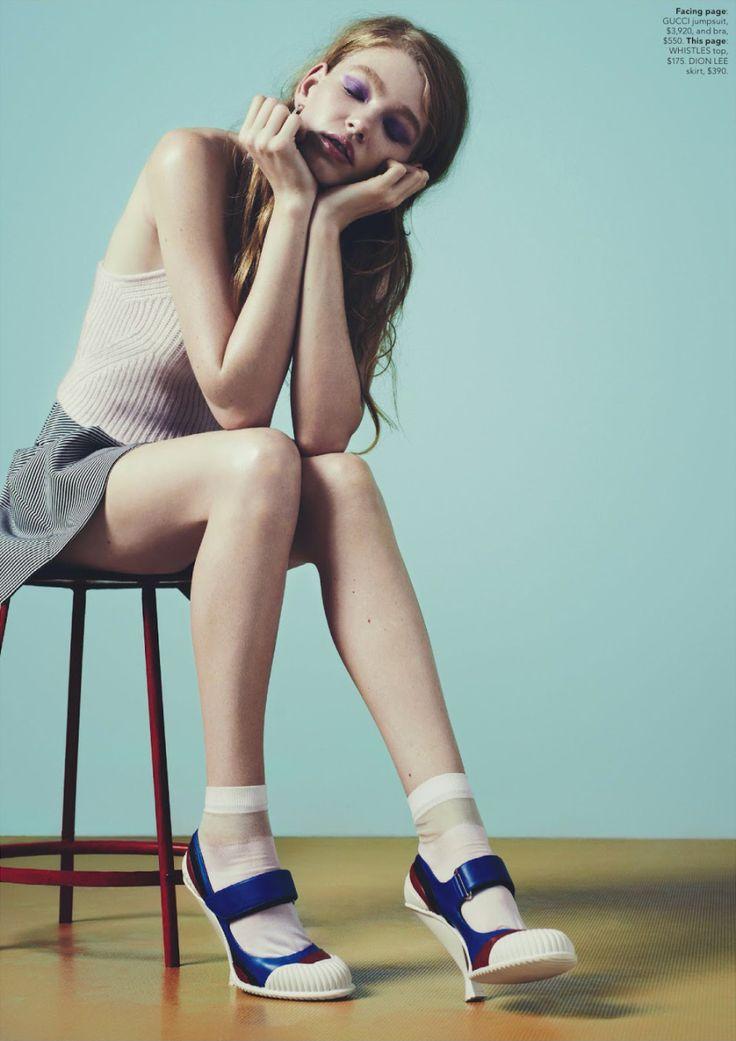 Hollie May Saker by Nick Dorey for Miss Vogue Australia #2 2