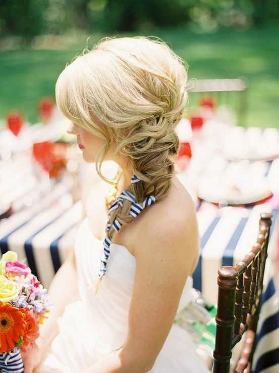 Striped ribbon braid!