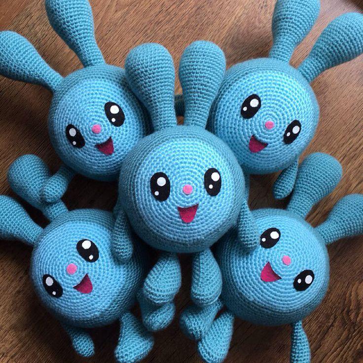 Кроши готовы! #crochetlove #crochê #crochet #crocheting #amigurumi #амигуруми #малышарики #крош #крошик #заяц