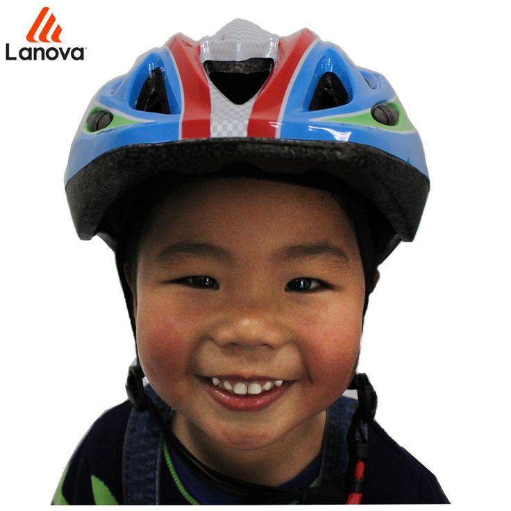 LANOVA Children Safety Protector Skating Bicycle Skateboard Helmet Ice Skating Roller Protector Bicycle helmet For Kids 2 colors