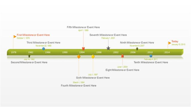 16 best images about free timeline templates on pinterest