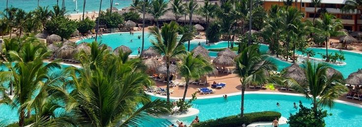 The IBEROSTAR Punta Cana hotel is a 5-star newly renovated all-inclusive accommodation. Located along the stunning Bavaro Beach in the island's northeast coast of the Dominican Republic, this luxurious 427-room hotel