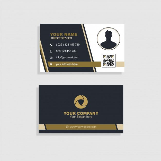 Elegant Business Card In 2020 Elegant Business Cards Business