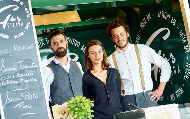 Gio's Strada - Italian food trucks by Choux de Bruxelles
