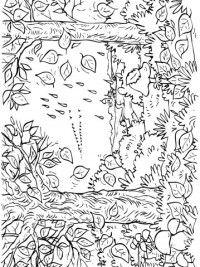 Kleurplaten Van Herfst.Herfst Kleurplaten 7 Kleurplaten Herfst Colouring Pictures
