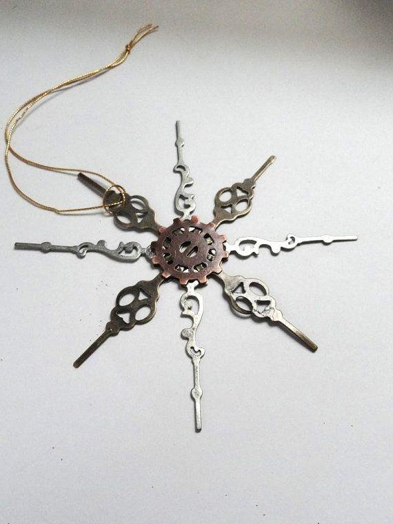 Steampunk Christmas Ornament Steampunk by AmberIlysSteamcrafts