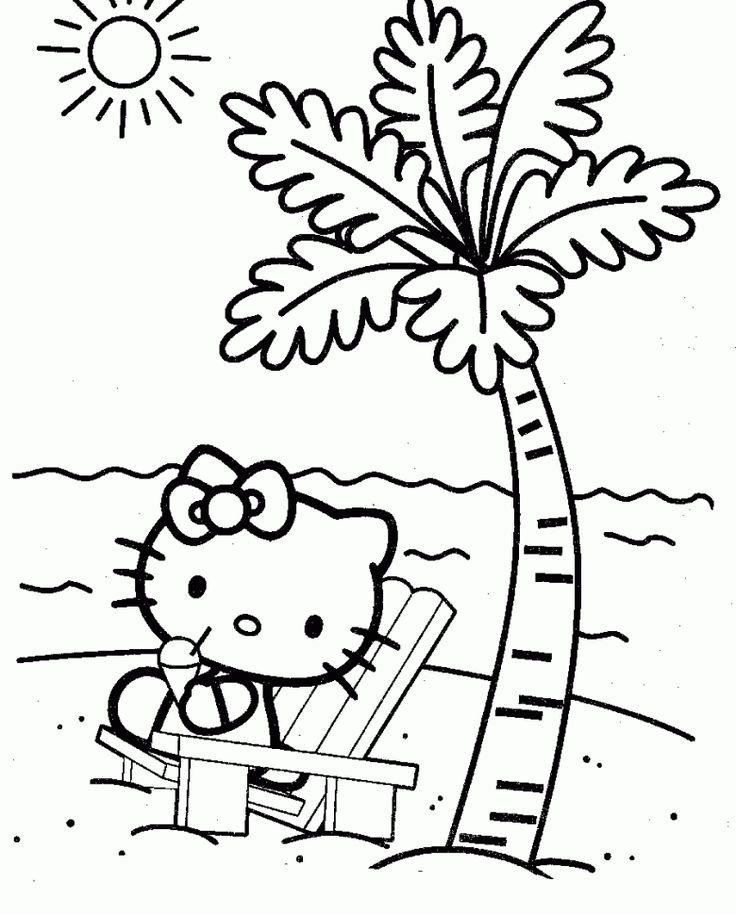 Hello Kitty zum ausdrucken