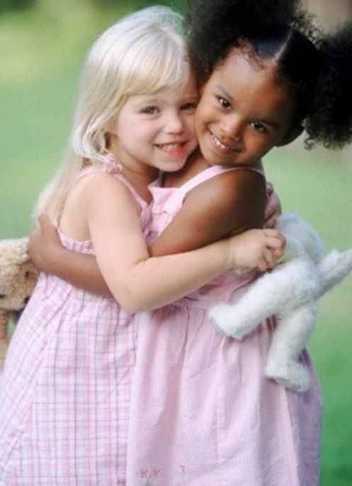 precious children always love.....they're taught to hate.....