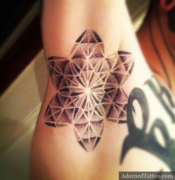 Dotted mandala tattoo ideas pinterest for Shading tattoo pain