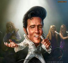 Elvis!!!!! Vivan las Vegas 🎶🎙🎵❤