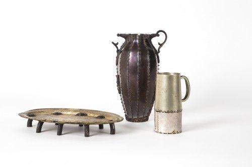 "Vito Bila ""Tray, urn and cup set"""