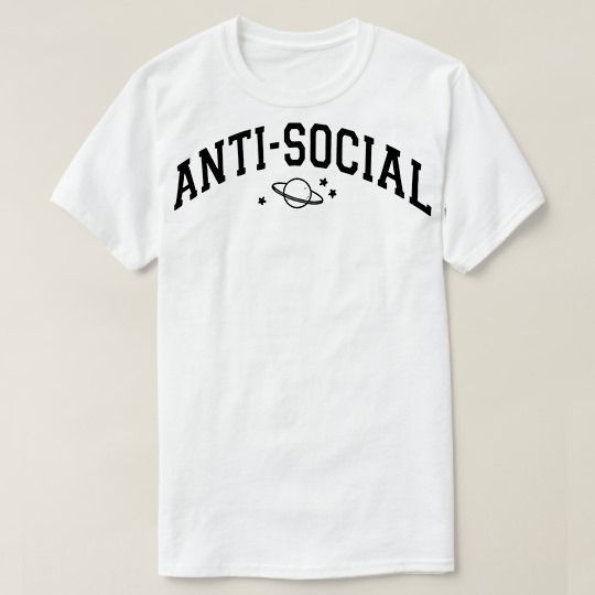 Anti Social Custom Shirts //Price: $15.50 & FREE Shipping //     #customtshirts #cheapcustomshirts #funnytshirts #theroyaltees #tshirtforman #tshirtforwoman #funnyquotetshirts #graphictees #coolgraphictees #gameofthrone #rickandmorty #likeforlike #tshirts #christmasgift #summer #catlover #birthdaygift #picoftheday #OOTD #giftforman #giftforwoman #streetwear #funnychristmasshirts #halloweencostume #halloweentshirt #tshirt #tshirts #tshirtdesign #funnygift #birthdaygift #funnybirthdaygift…