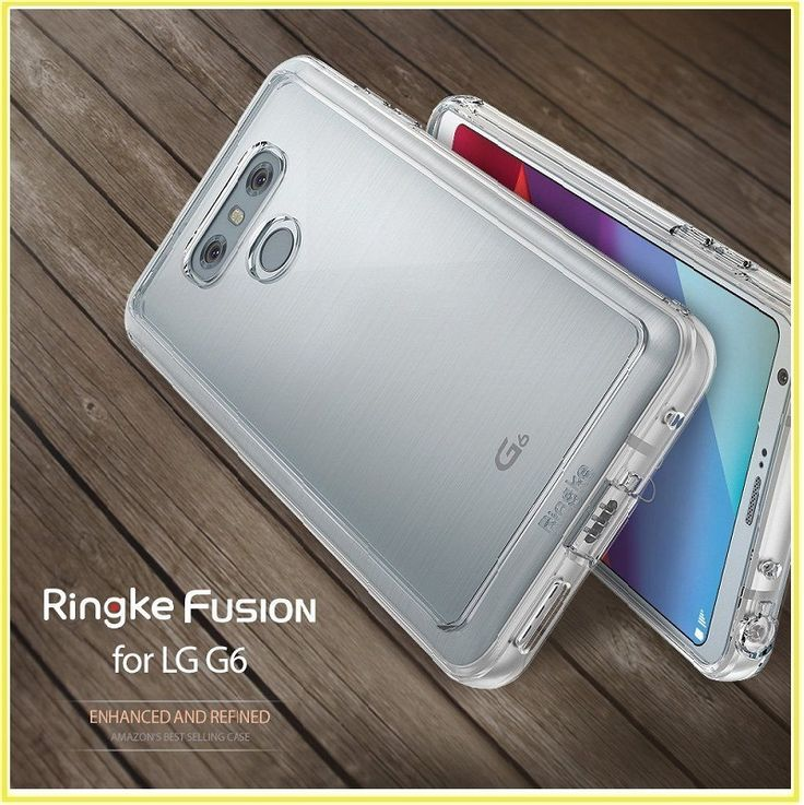 nice For LG G6 Case Ringke  Transparent PC Back Protective TPU Cover For LG G6 Within 24 Hours